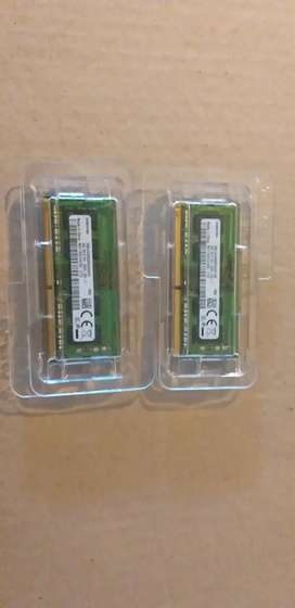 2x Samsung 4GB DDR4 laptop Ram