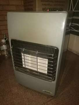 Totai gas heater with 9kg bottle