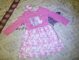 Платье нарядное детское р. 86 18мес