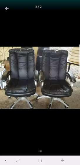 Fair used condition office Executive chairs available