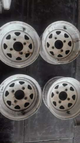 Size 10 trailer rims for sell