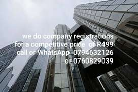 Company and tax registrations