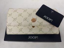 Nowa portmonetka JOOP offwhite beż portfel damski duży skórzany 2