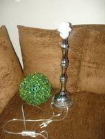 Lampa,lampka nocna,stołowa-chromowana wys.45 cm
