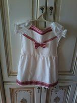 Плаття для дівчинки з вишивкою