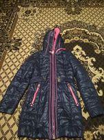 Демисезонная куртка, демисезонное пальто, плащ деми на девочку 9-10лет