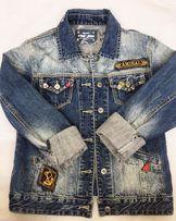 Джинсовка женская 44/46 размер куртка джинсовая жакет курточка кофта