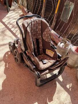 Coyote car seat and stroller