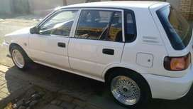 Toyota tazz 1.6 engine new BBS rims and sound system