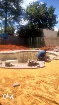 Image of swimming pool construction and renovations