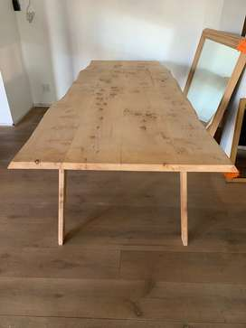 New dining table.