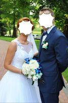 Przepiękna !!! Suknia Ślubna Annais Bridal By Ola la