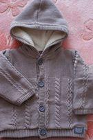 Sweter, ciepły sweterek Coolclub r. 80