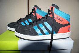 Adidas NEO Label HOOPS - wysokie buty sportowe, adidasy rozmiar 36