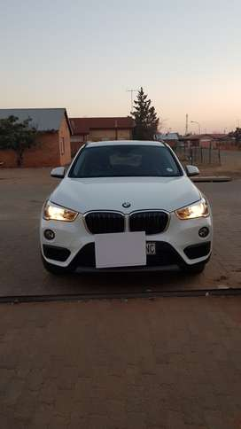 2016 White BMW X1, sDrive, 2.0D Automatic, 1 Owner.