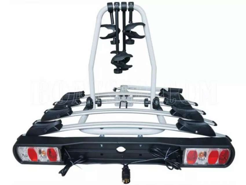 (H) BICYCLE RACK 4 CARRIER TOW BAR MOUNTING 0