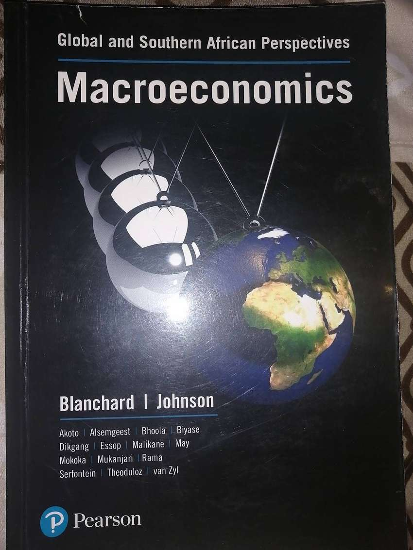 Macroeconomics Global and Sa perspective