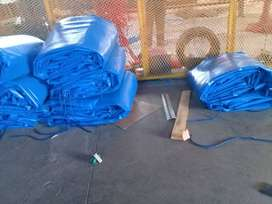 ALL WEATHER PVC TRUCK COVERS/TARPAULINS AND CARGO NETS