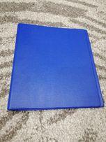 Segregator A5 niebieski do biura na przepisy przepiśnik Nowy