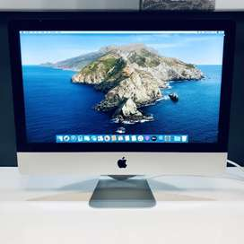 Apple iMac 21-inch 2.7GHz Quad-Core i5 (2TB SSD, Silver) Pre Owned