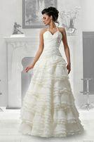 Красивое и элегантное свадебное платье