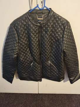 Daniel Hechter leather jacket size 40