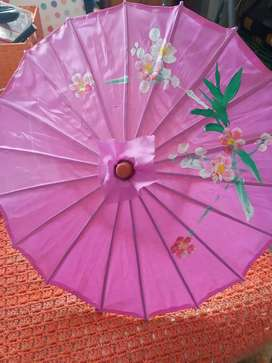 A cute Chinese bamboo umbrella