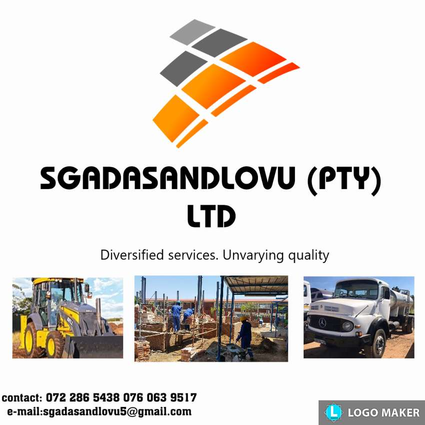 Trucks and Tlb's hire