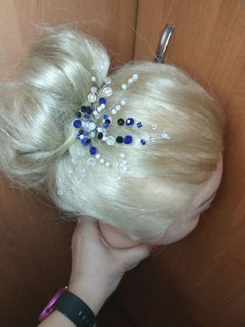 Изготовление украшений для волос ручной работы