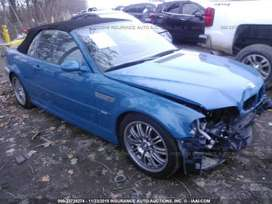 BMW e46 M3 Convertible Stripping for Parts