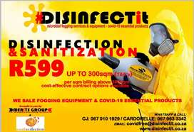 We are a Microbial Disinfection and Sanitization Company,