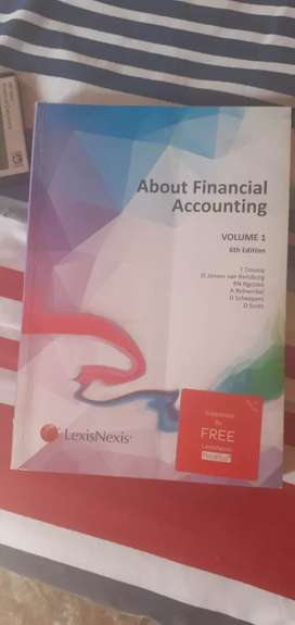 About Financial Accounting Volume 1 6th Edition