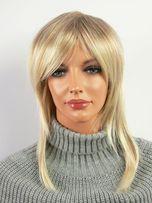 Peruka damska mix blondów PROSTA