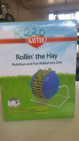 Roll the hay sinning hay dispenser