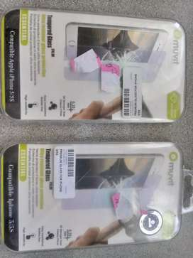 Tempered glass protection for iPhone5/56