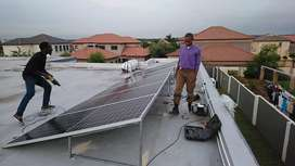Sales of solar products and installation