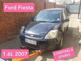 Stripping Ford Fiesta for parts
