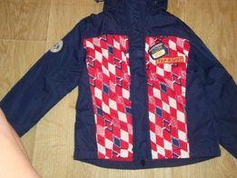 255 грн! Куртка ветровка Demix жилетка для мальчика р 110