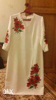 Платье украинского стиля