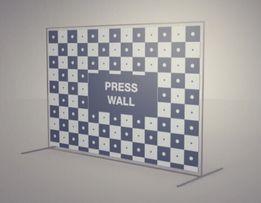 Металлическая конструкция / стойка для баннера / press wall / каркас