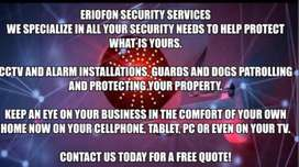Cctv,alarm system and guarding