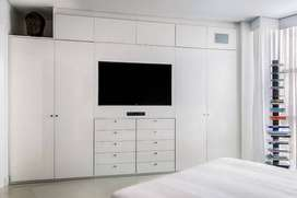 Built in wardrobes and TV stands