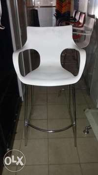 This is a brand new Executive plastic restaurant Bar stool 0