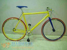 Шоссейный велосипед Azimut (полуфикс, с трещоткой)