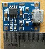 Контроллер заряда 1х Li-Ion Аккумуляторов