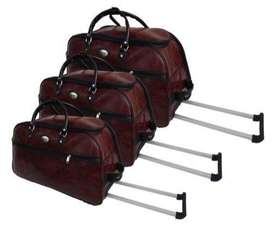 Brand New Travel Luggage Bags- 3 piece Duffel Bag Set with Roller whee
