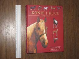 Коні та поні. Книга польською мовою. Книга на польском языке.