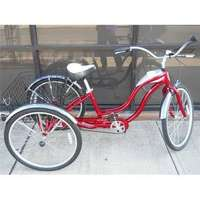 "Image of Vintage Aluminium 3 speed Schwinn Adult Tricycle, 26"" Like New - R5500"