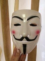 HIT!! Maska Anonimus Guy Fawkes Anonymous super przebranie na imprezę