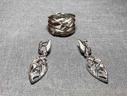 Золотой набор с бриллиантами STEPHEN WEBSTER(Реплика)
